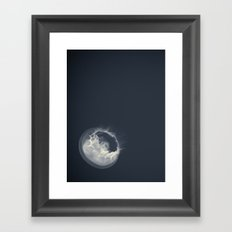 Moon Jelly Framed Art Print