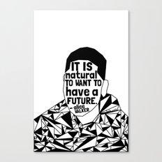 Tamir Rice - Black Lives Matter - Series - Black Voices Canvas Print