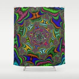 Fractal Abstract 80 Shower Curtain
