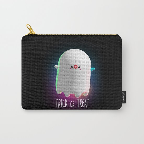Spooky Ghost Carry-All Pouch