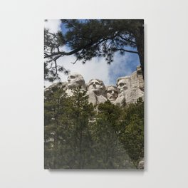 Mount Rushmore National Memorial, South Dakota, Presedential Trail Metal Print