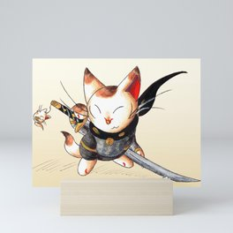 Lucky Ninja Mini Art Print