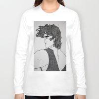 hercules Long Sleeve T-shirts featuring Hercules by lamya alghanem