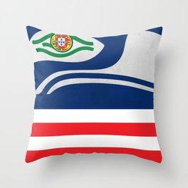 Portuguese Hawks Fans Throw Pillow
