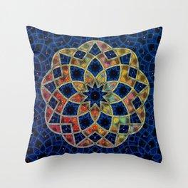 Starry Nine Throw Pillow