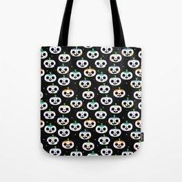 Sugar Skull Pumpkins Tote Bag