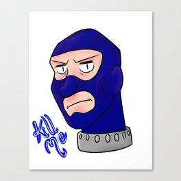 Spy Head Canvas Print