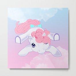 g1 my little pony baby Ember Metal Print