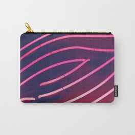 Pink Neon Carry-All Pouch