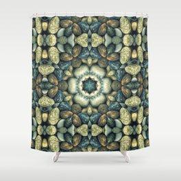 Stone Circle 05 Shower Curtain