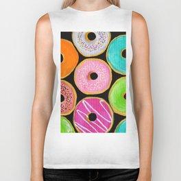 Donuts Biker Tank