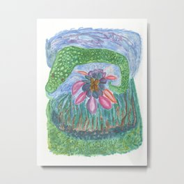 Drawing #136 Metal Print