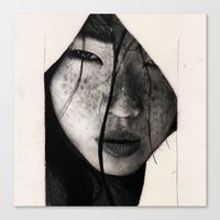 asian Canvas Prints featuring Asian by Ritchelly Oliveira