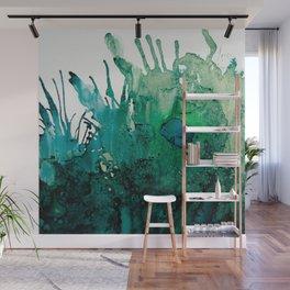 LITTLE BLUE FISH Wall Mural