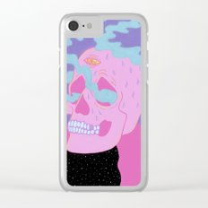 Burning On The Inside Clear iPhone Case