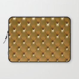Luxury Golden Leather vector new design Laptop Sleeve