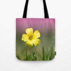 Yellow on Pink Tote Bag