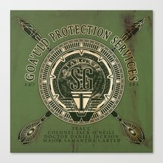 Goa'uld Protection Services Canvas Print