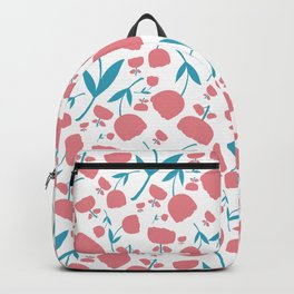 Cup Flowers Backpack