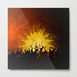 Trembling Sunset Metal Print