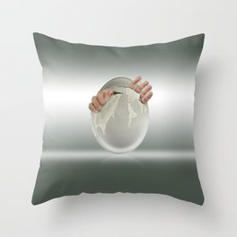 Hatched? Throw Pillow