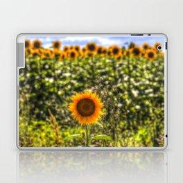 The Lonesome Sunflower Laptop & iPad Skin
