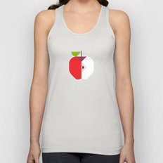 Fruit: Apple Unisex Tank Top