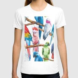 Parrot Pattern 01 T-shirt