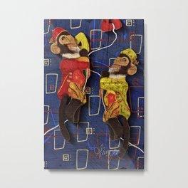 Monkey See, Monkey Do Metal Print