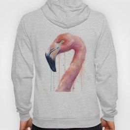 Pink Flamingo Painting Hoody