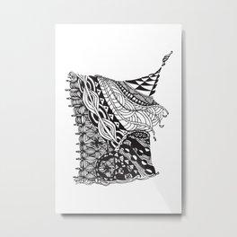 Odalisque Metal Print