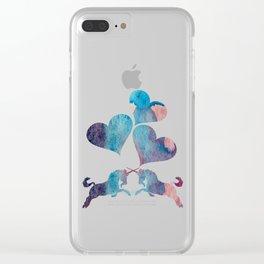 Unicorn Art Clear iPhone Case