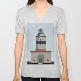 The lighthouse of Falsterbo Unisex V-Neck
