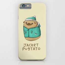 Jacket Pugtato iPhone Case