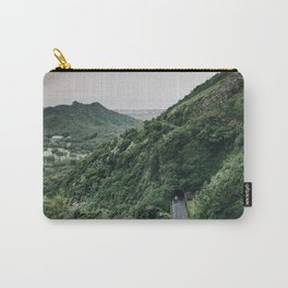 Drive Through Mountain - Hawaii Carry-All Pouch