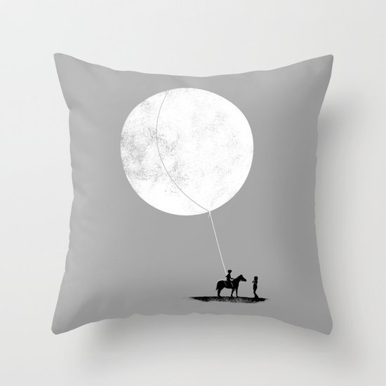 do you want the moon? Throw Pillow