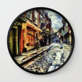 The Shambles York Van Gogh Wall Clock