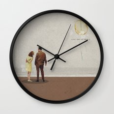 Last Day Of Magic | Collage Wall Clock