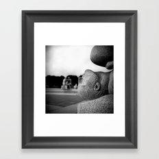 3 days in Oslo 01 Framed Art Print