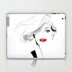 Woman with red lips Laptop & iPad Skin