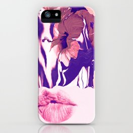The Taste Of Summer Hibis - Kiss iPhone Case