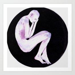 Foetal Void Art Print