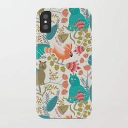 Playing Jungle iPhone Case