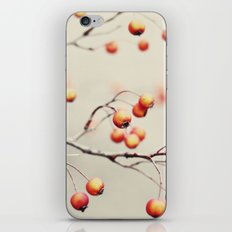 berries in the woods iPhone & iPod Skin