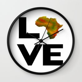 Motherland Love Wall Clock