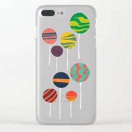 Sweet lollipop Clear iPhone Case