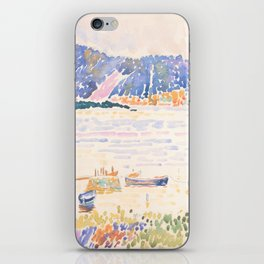 Cap Nègre by Henri-Edmond Cross 1909, French iPhone Skin
