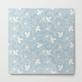 Pattern Flowers Metal Print