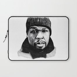 50 Cent Pen Drawing Laptop Sleeve