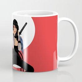Samurai Warrior Girl - Lubna Coffee Mug